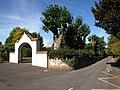 Park entrance and Beech Grove, Wellington - geograph.org.uk - 1517183.jpg
