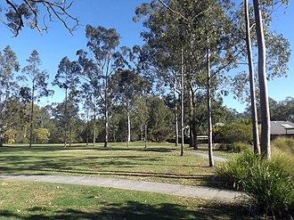 Augustine Heights, Queensland - Park along Christopher Street, 2016