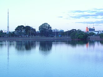 "Federal District (Brazil) - The ""Parque da Cidade"" (""City Park"") in Brasília"