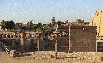 Hakor - Hakor's chapel in Karnak