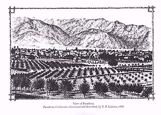 Theodore Lukens - Cover of Pasadena, California, Illustrated and Described