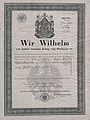 Paszport Augusta Cieszkowskiego wystawiony przez wladze pruskie na wyjazd do Włoch.jpg