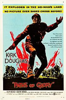 <i>Paths of Glory</i> 1957 film by Stanley Kubrick