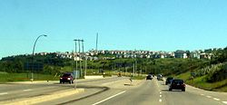Olympic Village in Patterson overlooking Sarcee Trail