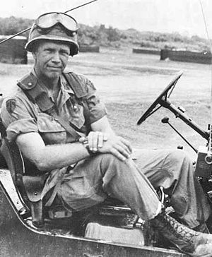 George Patton IV - Col. George S. Patton IV in South Vietnam