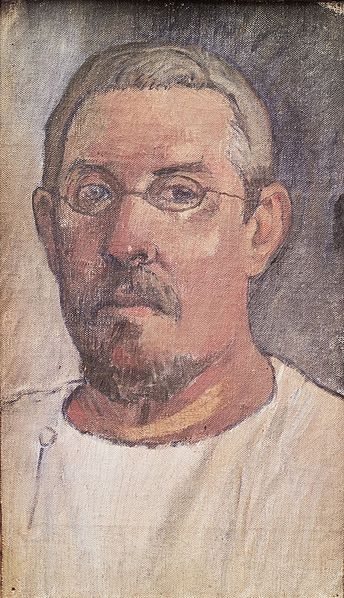 ファイル:Paul Gauguin - Self Portrait 1903 - Kunstmuseum Basel 1943.jpg