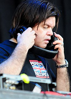 Paul Oakenfold British record producer and a trance music DJ