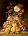 Pauline von Koudelka Schmerling Stilleben mit Obst und Blumen 1839.jpg