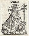 Paus Sixtus I Sixtus (titel op object) Liber Chronicarum (serietitel), RP-P-2016-49-56-9.jpg