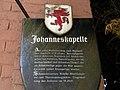 Payerbach - Tafel an der Johanneskapelle.jpg