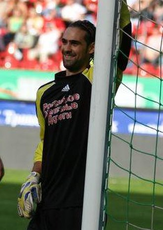 Ivan Pelizzoli - Pelizzoli while playing for Lokomotiv Moscow