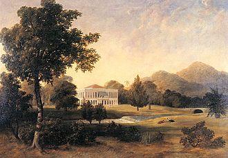 Suffolk House, Penang - Suffolk House in 1818