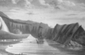 Pendulum Cove Deception Island 1834 by Webster.png