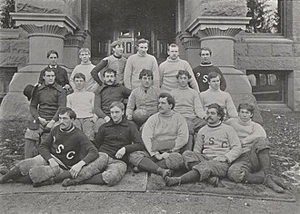 1893 Penn State Nittany Lions football team - Image: Penn State Football 1893