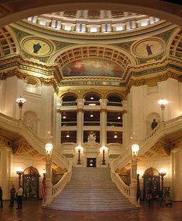 Pennsylvania State Capitol Staircase