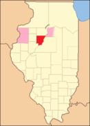 Peoria County Illinois 1827