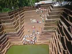 Temple Pond in Peralassery