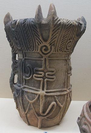 Jōmon period - Middle Jomon vessel