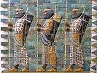 Pasukan Abadi Persia, dekorasi di Istana Darius di Susa (510 SM)