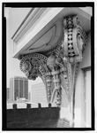 Perspective view of pilaster capital - St. James Building, 117 West Duval Street, Jacksonville, Duval County, FL HABS FLA,16-JACK,14-4.tif