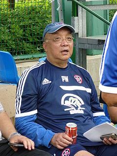 Peter Wong (sports commentator) Hong Kong football commentator