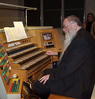Peter Bares German organist and composer