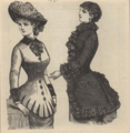 Peterson's Ladies National Magazine, June 1883 - women's fashion 07.png