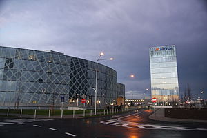 Petrom - PetromCity, located in northern Bucharest, serves as the company headquarters