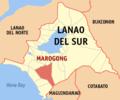 Ph locator lanao del sur marogong.png