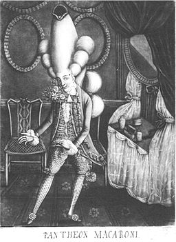 Philip Dawe, The Macaroni. A Real Character at the Late Masquerade (1773) - 02