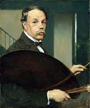 Philip Leslie Hale - Philip Leslie Hale, self-portrait