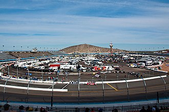 1995 Skoal Bandit Copper World Classic - Phoenix International Raceway (pictured in 2011), the site of the Copper World Classic