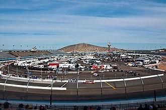 ISM Raceway - Image: Phoenix International Raceway, November 2011