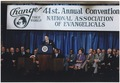 """Photograph of President Reagan addressing the Annual Convention of the National Association of Evangelicals(""""Evil..."""" - NARA - 198535).tiff"""