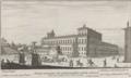 Piazza e Palazzo sul Quirinale detto Monte Cavallo by Giovanni Battista Falda (1665).png