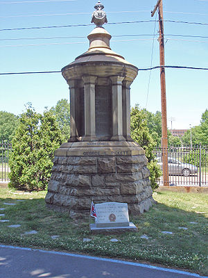 George Pickett - Pickett's grave site at Hollywood Cemetery