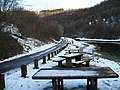 Picnic tables at Cwm Carn - geograph.org.uk - 1158595.jpg