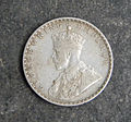 Pictures of George V British India One Rupee Silver Coin 1912 (2).jpg