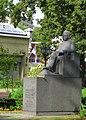 Piemineklis rakstniekam R.Blaumanim, Rīga.JPG