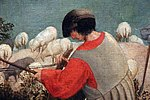 Pieter bruegel il vecchio, caduta di icaro, 1558 circa 05 contadino.JPG