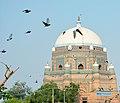Pigeons and Tomb of Shah Rukn-e-Alam Multan.jpg