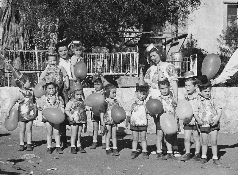 גן-שמואל-פעוטון 1951