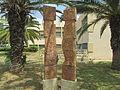 PikiWiki Israel 42457 quot;The meetingquot; sculpture in Kiryat Ono.JPG