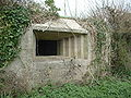Pillbox embrasures, Large, on Taunton Stop Line.JPG