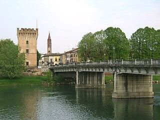 Pizzighettone Comune in Lombardy, Italy