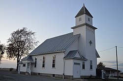 Methodist church at Plankton