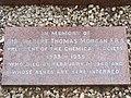 Plaque, Essendon cemetery - 48224616896.jpg
