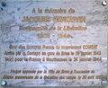 Plaque à la mémoire de Jacques Renouvin en gare de Brive-la-Gaillarde.jpg