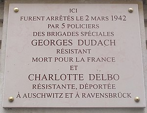 Charlotte Delbo Viquipèdia Lenciclopèdia Lliure