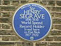 Plaque re Sir Henry Seagrave - geograph.org.uk - 1527584.jpg